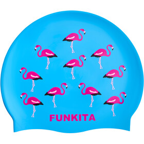 Funkita Silicone Swimming Cap, go flamingo!
